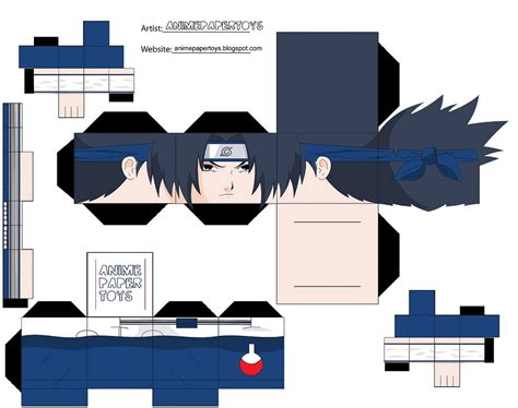 Sasuke Papercraft - cool papercraft japan media