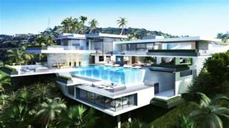 House Designs Floor Plans Usa by Two Luxury Ultramodern Mansions On Sunset Plaza Drive In La