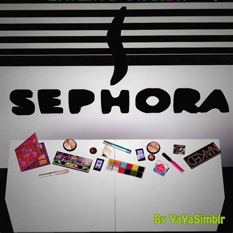 Sephora Cc my sims 3 sephora makeup clutter by yayasimblr