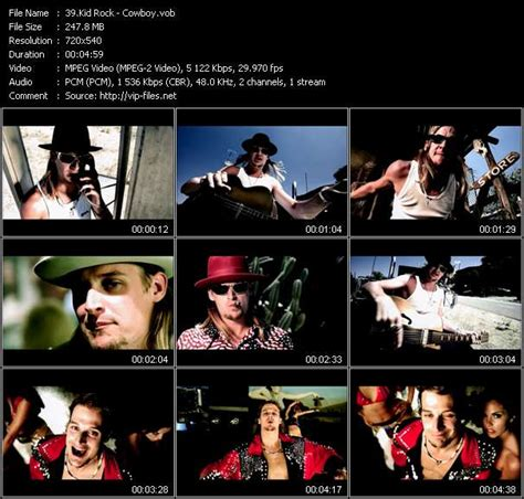 kid rock videos cowboy country music videos for downloading montgomery gentry