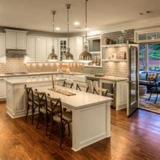 kitchen island with table extension new atlanta homes by georgia luxury home builders ashton