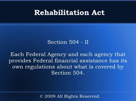 section 504 compliance guide to disability rights laws