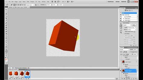 tutorial photoshop cs5 3d animation how to create a 3d animation in adobe photoshop cs5 youtube