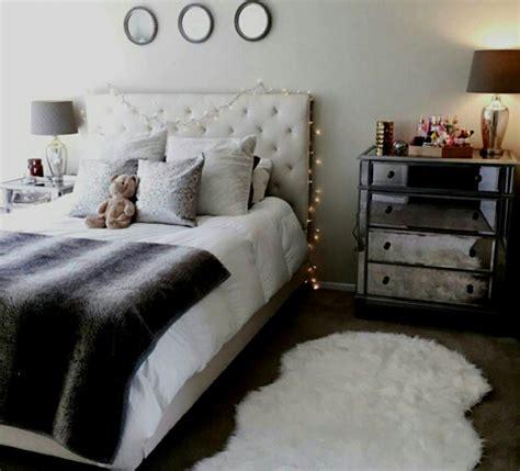 schlafzimmer ideen mit lichterketten grau zimmer deko lichterkette