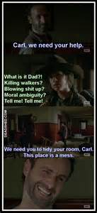Carl Walking Dead Meme - carl walking dead meme www imgkid com the image kid