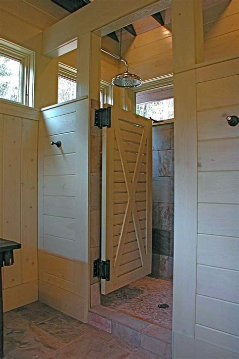 how to install a swinging shower door 25 best ideas about swinging doors on pinterest rustic