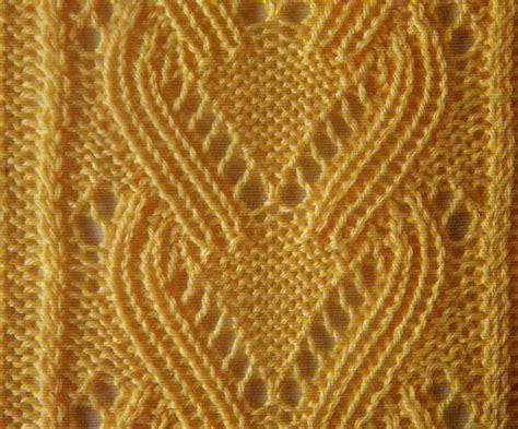knitting with eyelet lace yellow eyelet lace knit stitch chart knitting kingdom