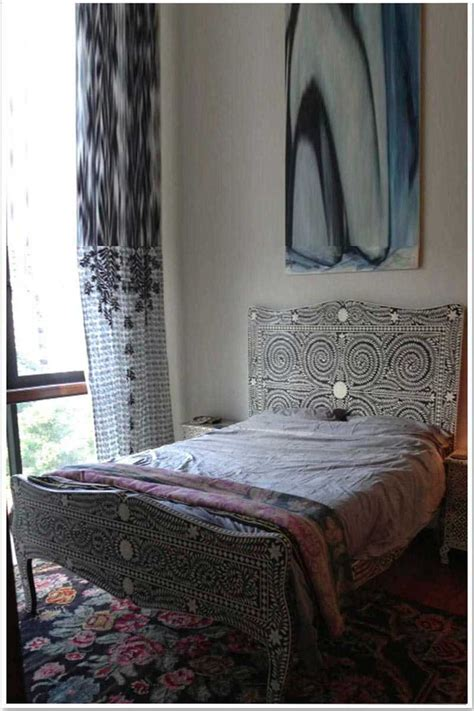 bed and bone bone inlay bed bone mother of pearl inlay furniture store