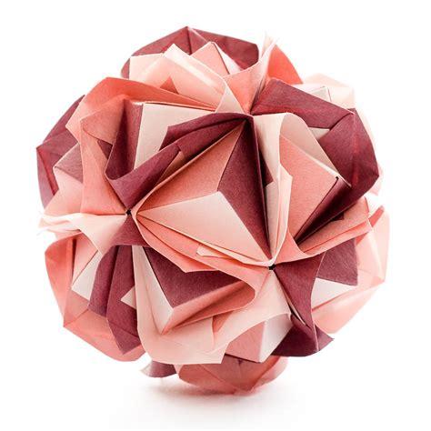 Origami Kusadama - clover kusudama by sinayskaya diagram go origami