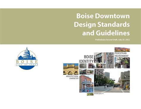 downtown design guidelines knoxville boise citywide and downtown design standards makers