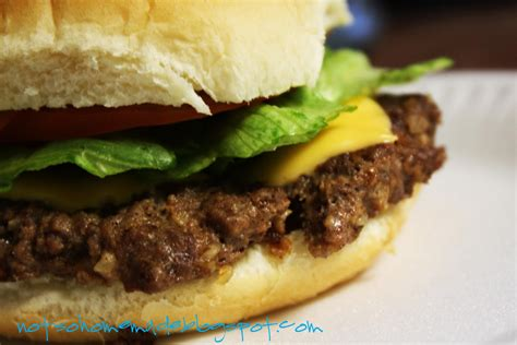 Handmade Burger Recipe - not so burgers