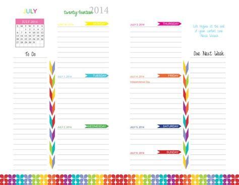 custom printable weekly planner create a custom designed planner plan my planner