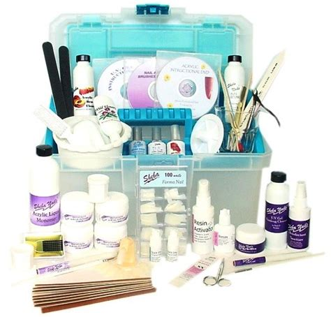 Nail Technician Supplies by Intermediate Nail Tech Kit