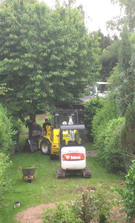 Garten Und Landschaftsbau Ohne Ausbildung by Baggerarbeiten Im Landschaftsbau Gartenbau Naturgarten