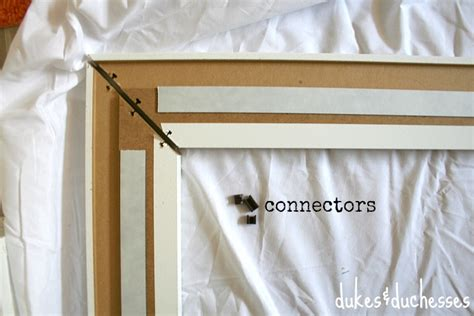 attaching the frame to your mirror a framed mirror and a mirrormate giveaway dukes and