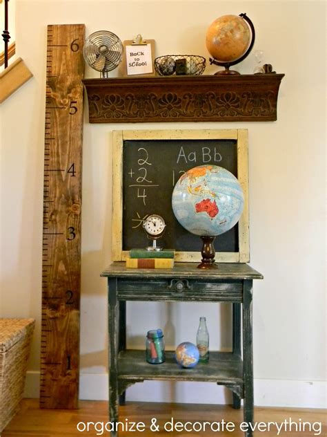 home decor school back to school decorating organize and decorate everything