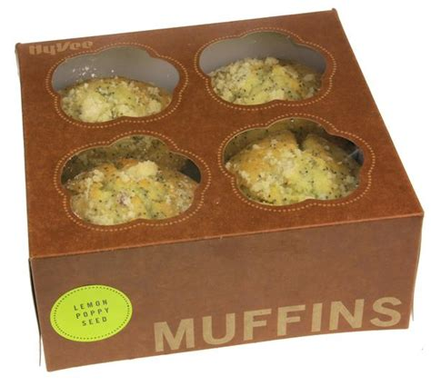 Baby Box Cocolatte Cubix Cl 8856 loaded jumbo lemon poppy seed muffins 4ct hy vee aisles