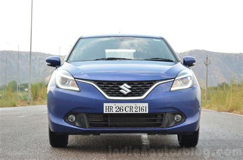 Suzuki Baleno Diesel Maruti Baleno Diesel Front Review Indian Autos