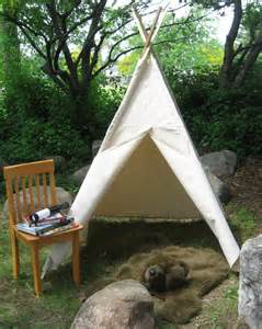 backyard teepee tent play tent canvas by tip top teepee shop