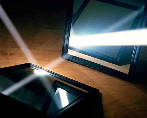 Reflecting Light by Light Reflecting Two Mirrors By Harding Flickr Photo