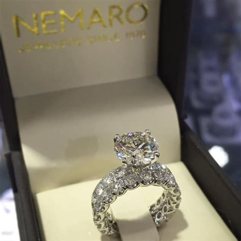 unique does wedding ring go on top of engagement ring