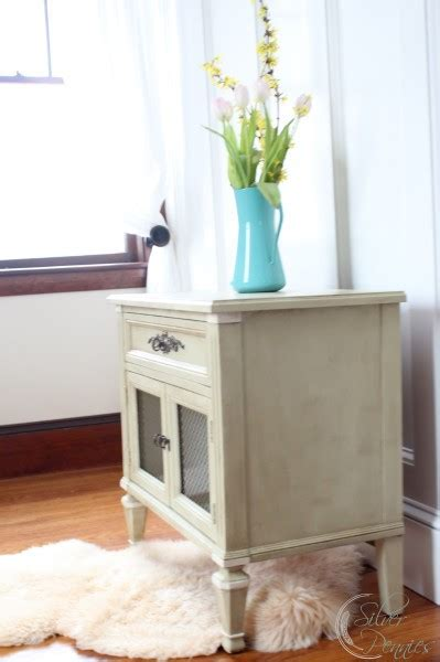 The Versailles Table More Than You Think by Caroline Side Table Before After Finding