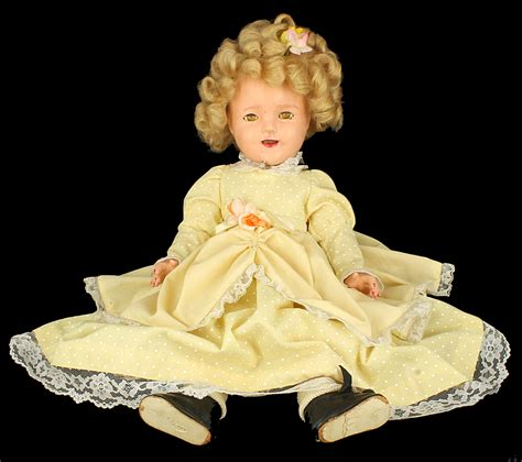 what s a composition doll vintage 1930 s ideal shirley temple 18 quot sleepy eye
