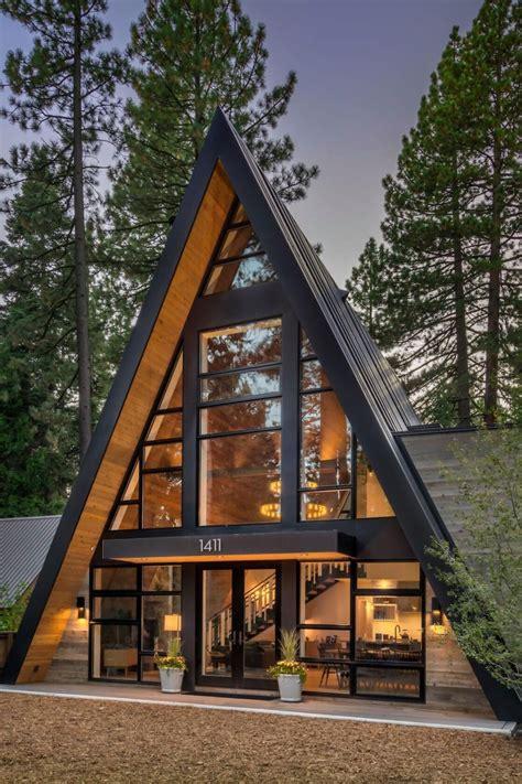 mountain style  frame cabin  todd gordon mather