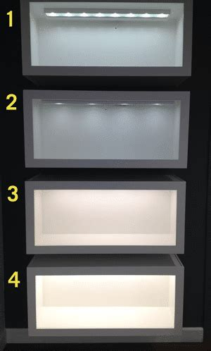 xenon vs led cabinet lighting cabinet lighting led vs xenon which is better