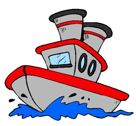 barco navegando animado desenho de barco no mar pintado e colorido por usu 225 rio n 227 o