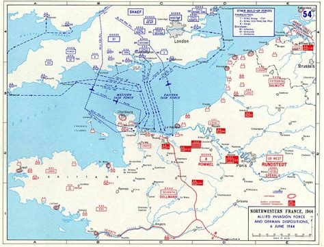 d day map map of the allied landings in normandy