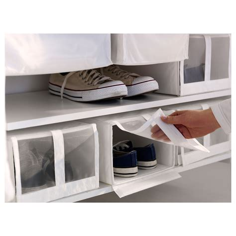 ikea shoe bin skubb shoe box white 22x34x16 cm ikea