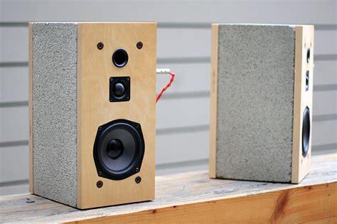 design milk speakers really solid sound daniel ballou s cinder speakers