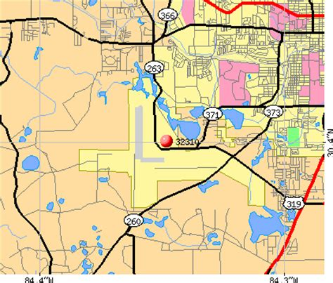 zip code map tallahassee 32310 zip code tallahassee florida profile homes