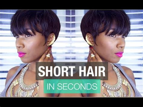 easy short hair style  commitment curly hair