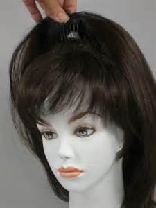 thin hair pull through wigltes human hair wiglets om hair