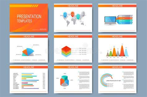 imagenes impactantes para presentaciones sistema de las plantillas del vector para las diapositivas