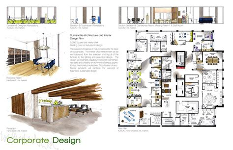 interior design layout print portfolio on behance