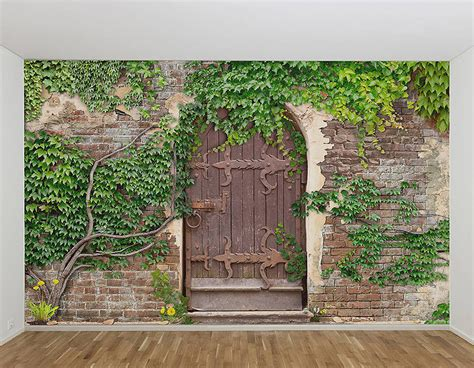 garden wall murals garden wall murals pictures to pin on pinsdaddy