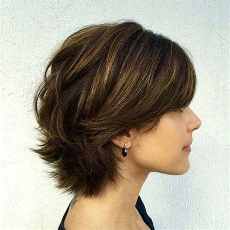 bob hairstyle long layers on top shorter layers underneath hair 15 short haircuts with layers short hairstyles 2017