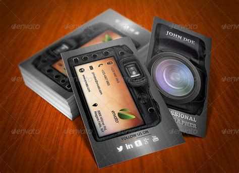photography business card templates free photography creative business card by ethanfx graphicriver