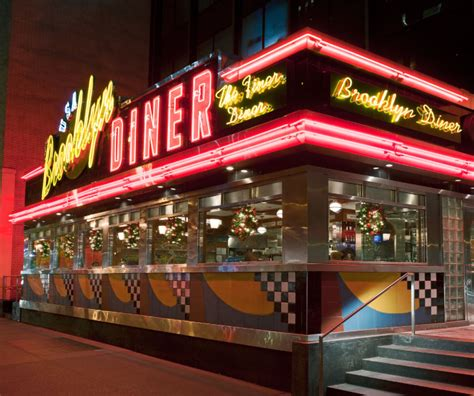 dinner nyc neon metal and patty melts a look at school new