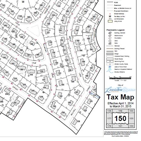 tax map lewiston me official website printable maps
