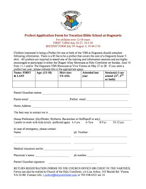 application letter for prefect in a school giving donation letter forms and templates fillable