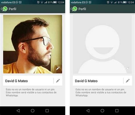 imagenes para perfil en wassap c 243 mo evitar que un desconocido vea tu foto de perfil de