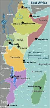 East Africa Map by East Africa Natural Gas Mozambique And Tanzania Climate