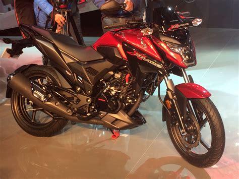Kilometer Honda Blade New 1 honda x blade 160cc motorcycle debuts at auto expo 2018