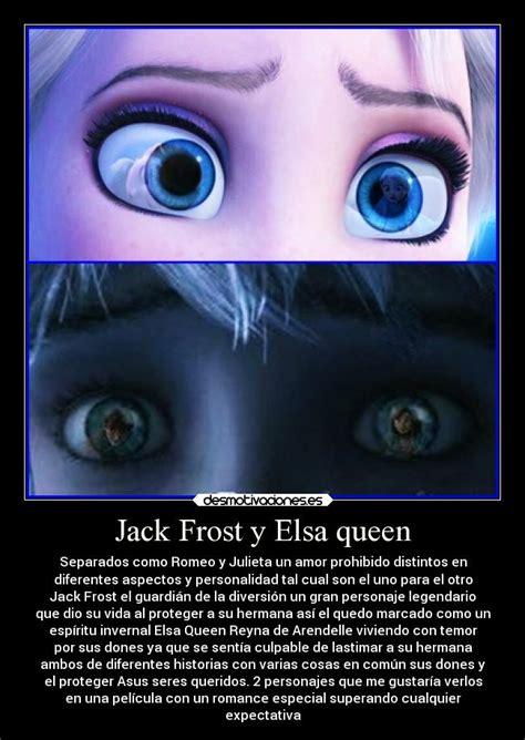imagenes de jack y elsa jack frost y elsa queen desmotivaciones