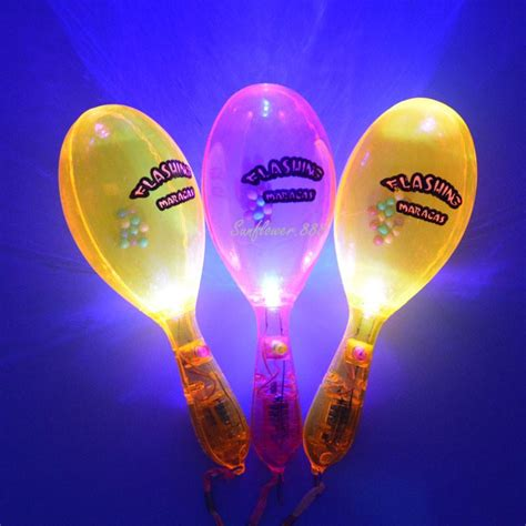 flashing maraca light up maraca light up toy sensory toys