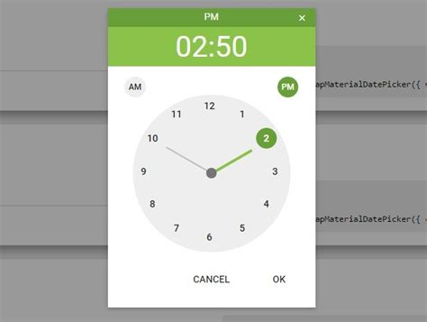 time pattern javascript pretty date time picker plugin for bootstrap material